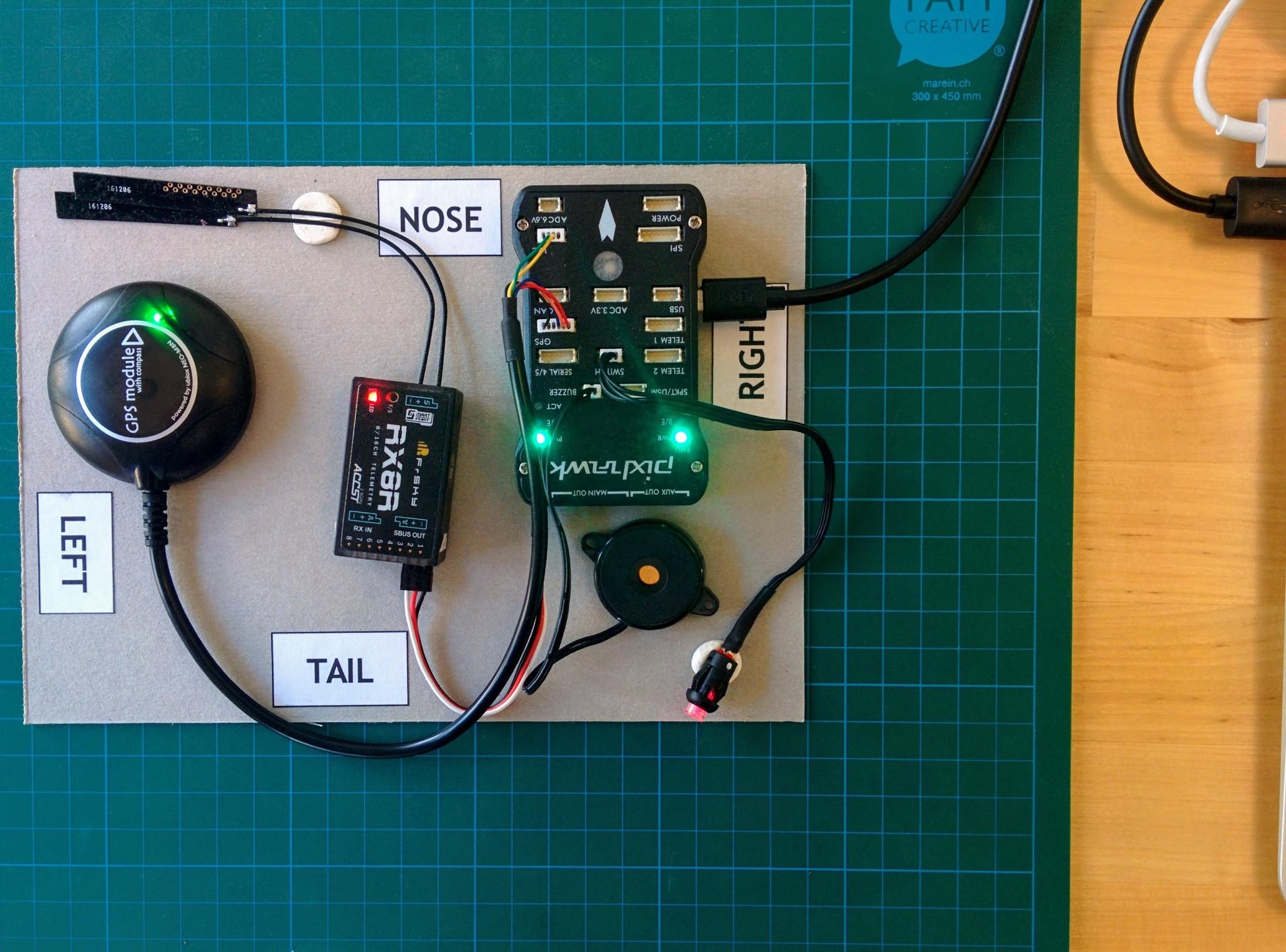Pixhawk setup · Large Quadcopter Build
